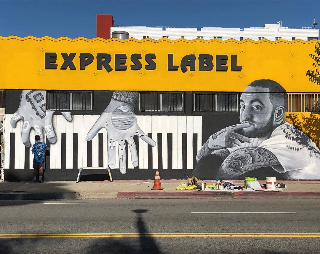 A Giant Mac Miller Mural Popped Up In Venice Beach As A Birthday Tribute