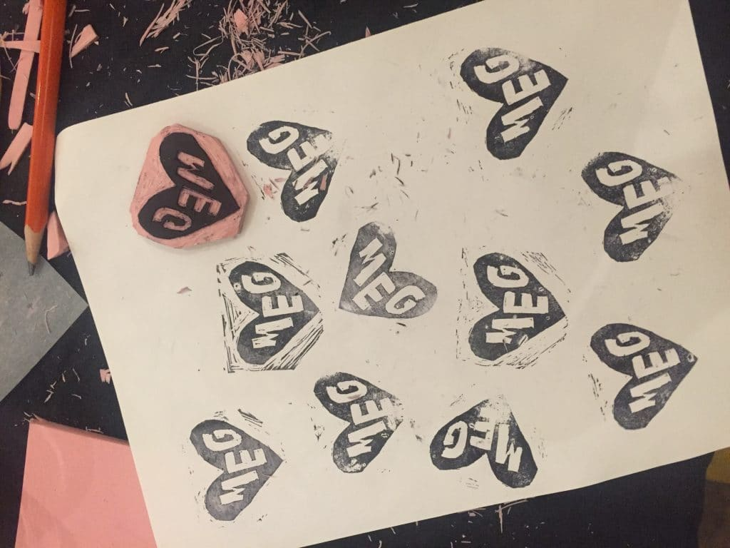 This Stamp Making Class Will Help You Craft The Perfect Valentine's Day Card