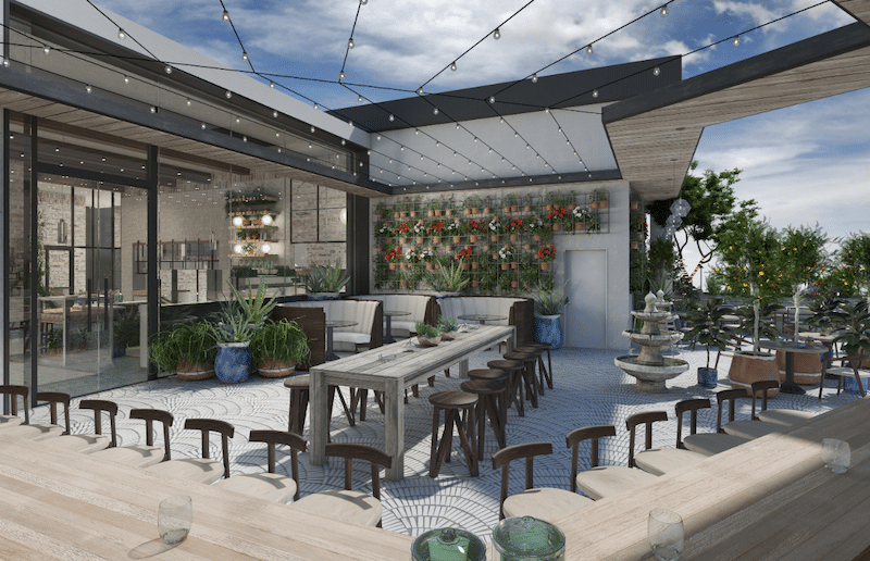 LA's First-Ever Cannabis Rooftop Restaurant Will Debut In WeHo This Summer