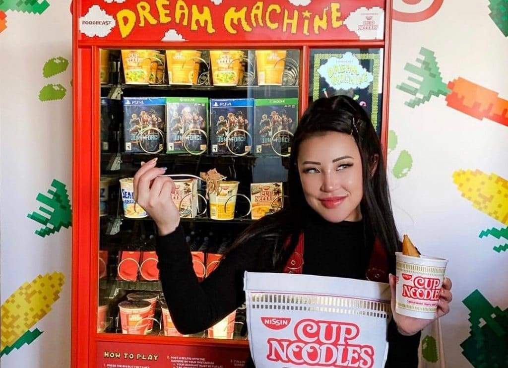 A 'Cup Noodles' Media Powered Vending Machine Is Popping Up In Torrance
