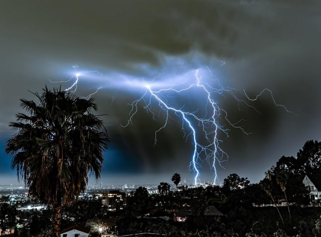 L.A. Had A Striking Thunderstorm And Here Are The Breathtaking Pictures To Prove It