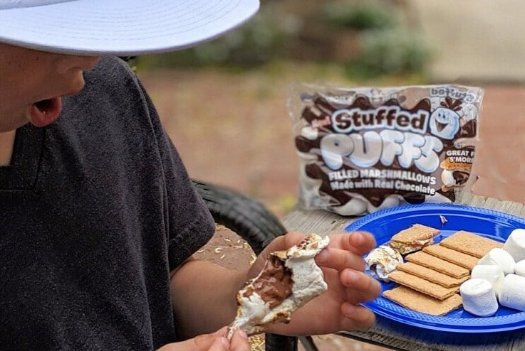 These Chocolate-Stuffed Marshmallows Plan To Change S'mores Forever