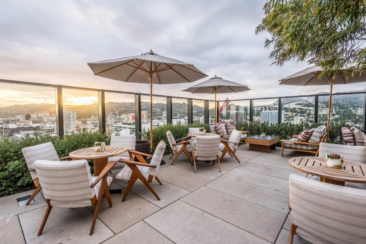 Sorra Has Landed On A Rooftop In Hollywood And The Views Are Everything