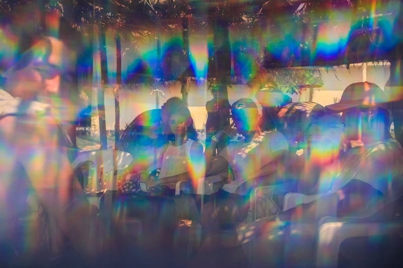 Things Are Pretty Trippy Over At The Kaleidoscope Experience In DTLA