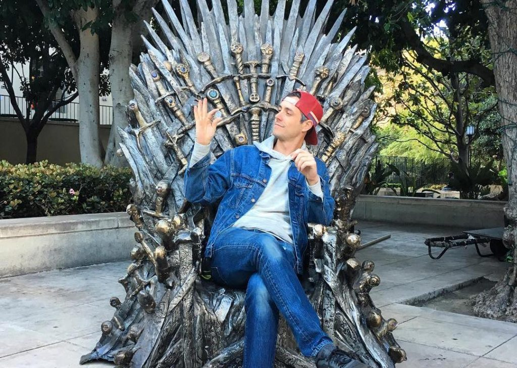 The Iron Throne Made It's Way To DTLA And You Can Sit On It… For A Price