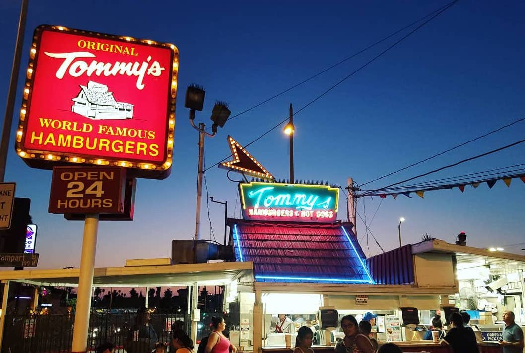 Today Hamburgers Are Only 73-Cents At All Original Tommy's Locations!