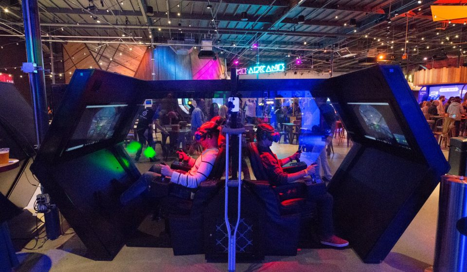 This Micro Amusement Park In DTLA Is An Arcade From The Future—And It's Open