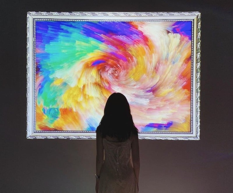 This Digital Art Museum Is Everything You Never Knew Your Selfie-Game Needed