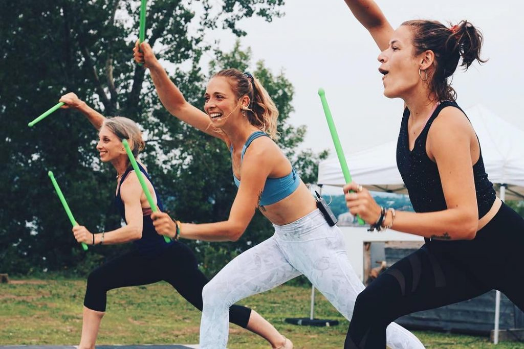 Fulfill Your Wildest Dreams Of Being A Rock Star At This Game-Changing Cardio Class