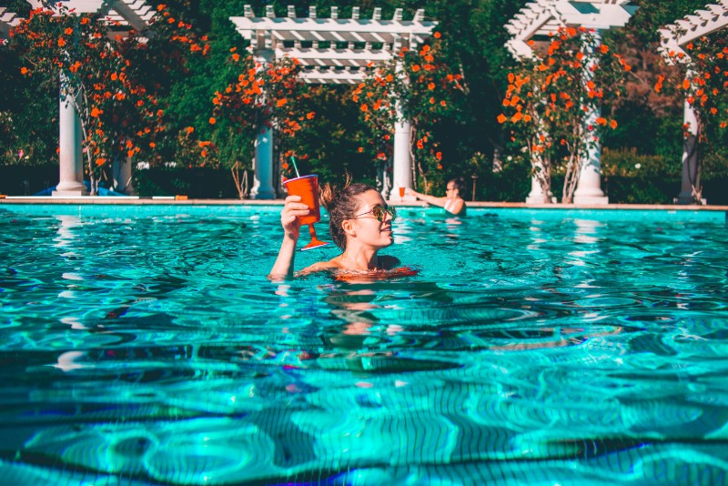 7 Places To Grab A Poolside Drink In LA This Summer