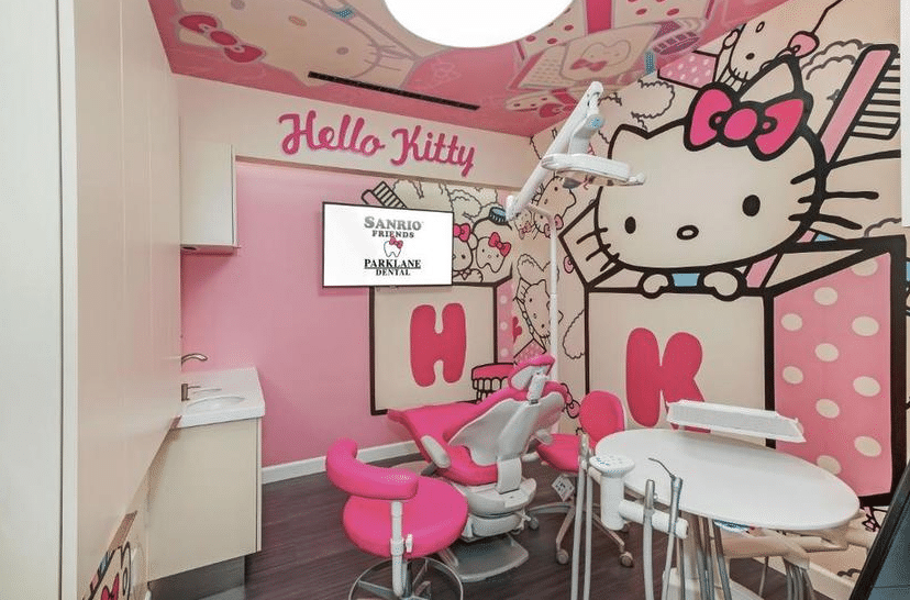 A Hello Kitty-Themed Dental Office In Temple City Wants You To Enjoy Getting Your Teeth Cleaned