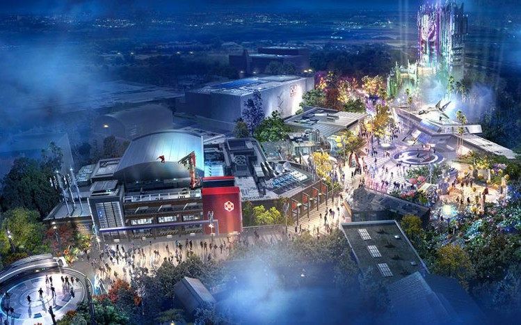 Fans Will Get A Sneak Peak Of Disney's New Marvel Land At The D23 Expo This Weekend