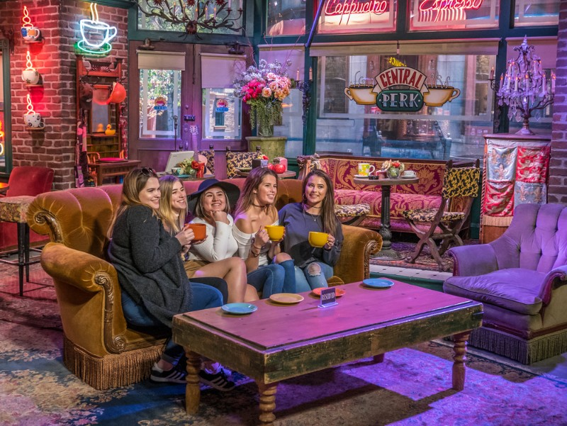 Celebrate The 25th Anniversary Of 'Friends' At LA's Very Own Central Perk Pop-Up