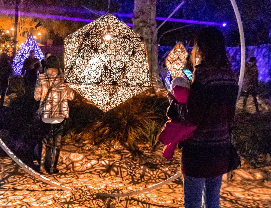 Descanso Gardens' Luminous Enchanted Forest Of Light Is Making A Comeback This November