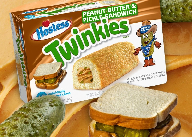 Hostess Tweeted About Peanut Butter & Pickle Flavored Twinkies And The Internet Lost It