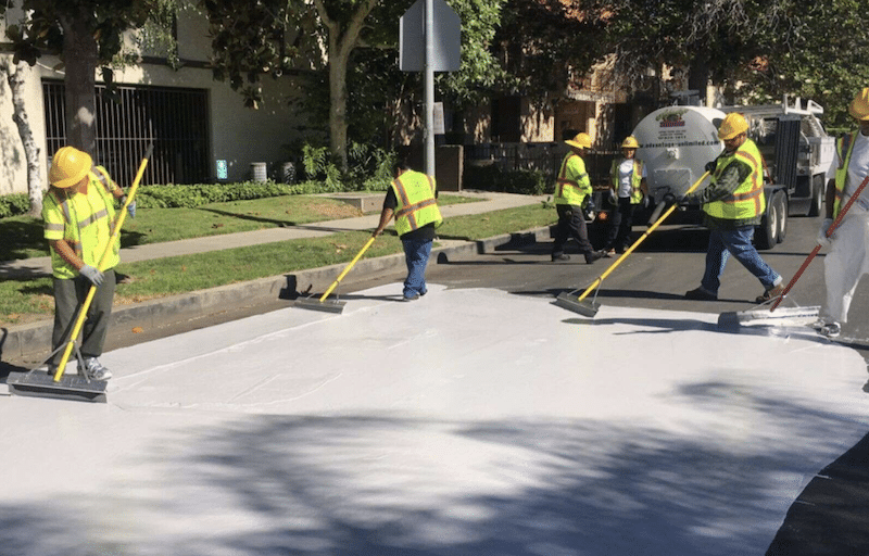 LA Wants To Paint The City Streets White In A Race To Combat Climate Change