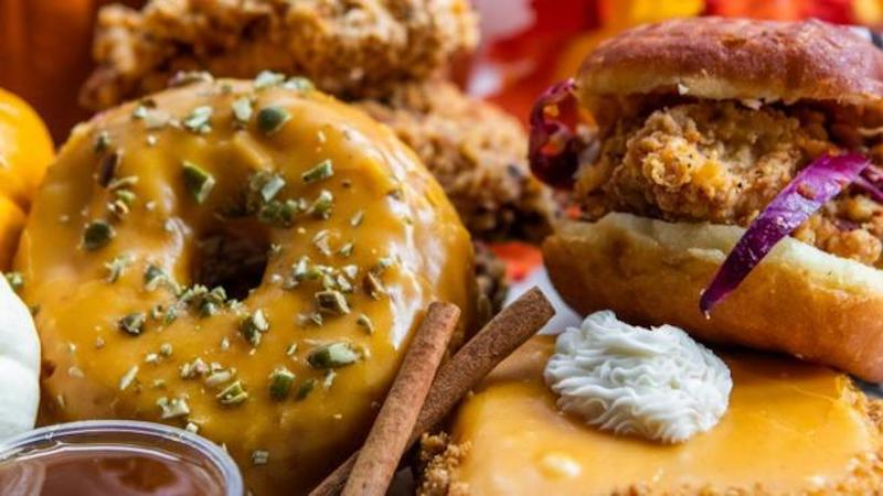 Astro Doughnuts & Fried Chicken In Santa Monica Is Giving Out Free Pumpkin Spiced Doughnuts On Halloween