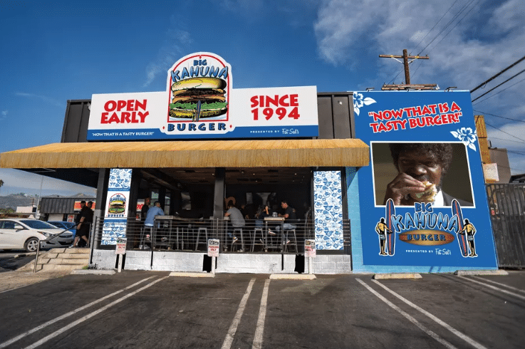 Pulp Fiction's 'Big Kahuna Burger' Is Taking Over Fat Sal's In WeHo For Halloween