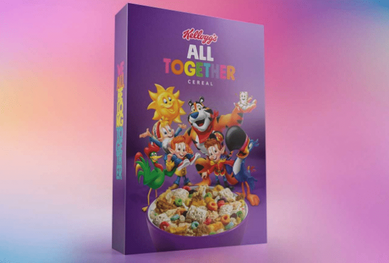 Kellogg's Is Combining Six Of Their Iconic Cereals In Support Of Inclusivity And Anti-Bullying