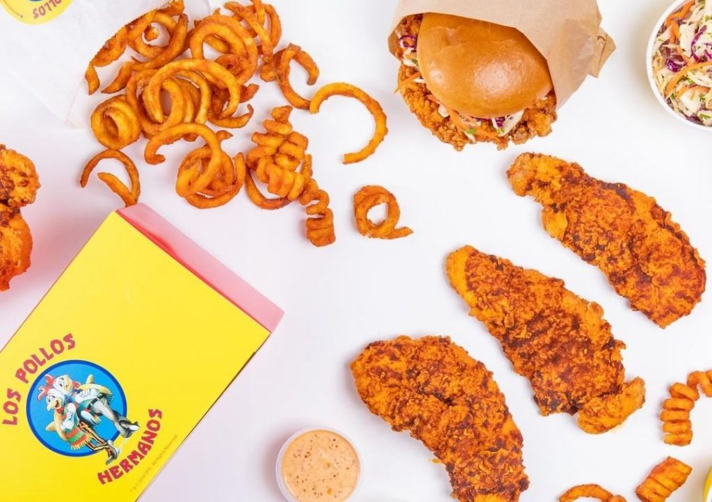 Breaking Bad's Los Pollos Hermanos Is Turning Up The Heat In L.A. With Its Fiery Chicken