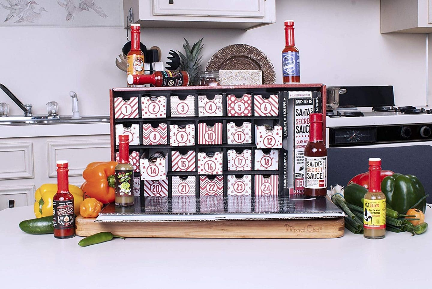 This Advent Calendar Will Gift You With 25 Hot Sauces Leading Up To Christmas
