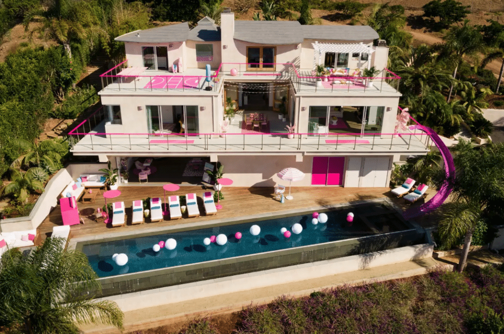 A Lucky Fan Can Book Barbie's Malibu Dreamhouse On Airbnb For $60 A Night