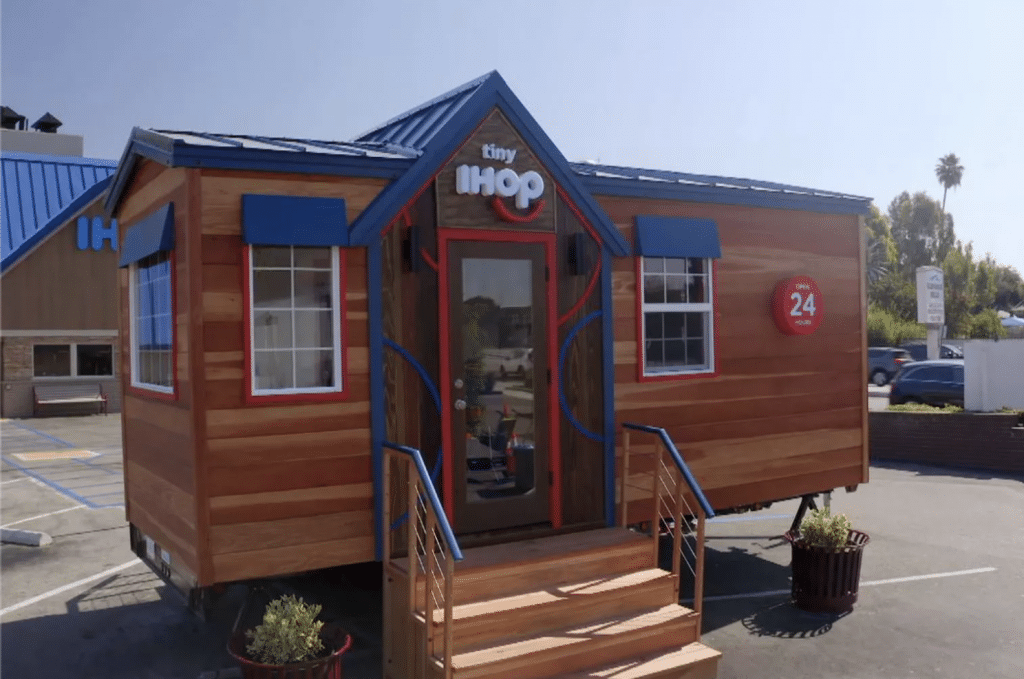 IHOP Is Building A Tiny Restaurant That'll Pop Up Somewhere In L.A. This December
