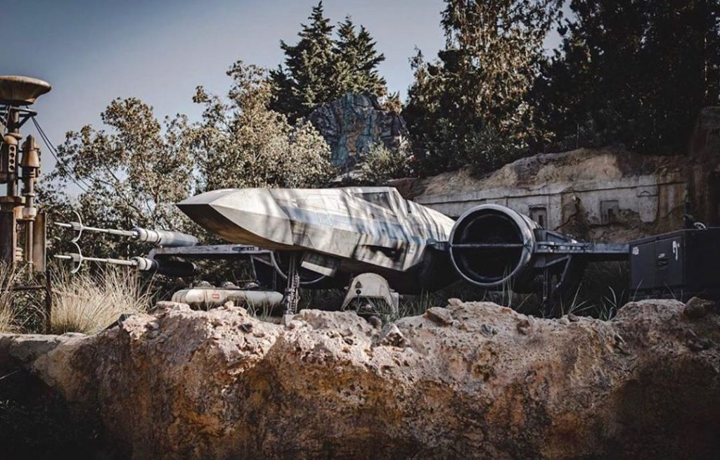 Disney Is Test Flying X-Wing Drones Over Star Wars: Galaxy's Edge