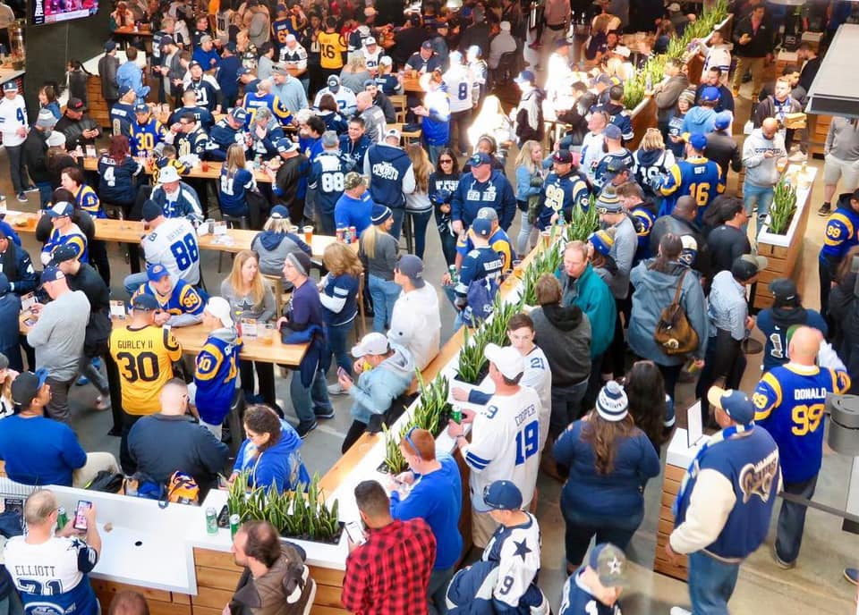 Cheer The Rams To Super Bowl Victory At This Epic Tailgate Party With A 4-Hour Open Bar!