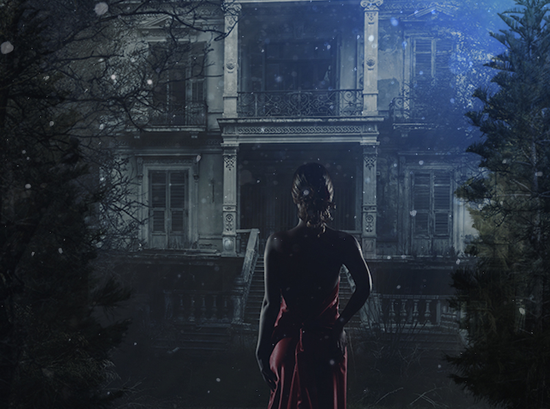 LA's Haunted Cocktail Soirée Inside An Old L.A. Mansion Is Decking Its Halls For The Holidays