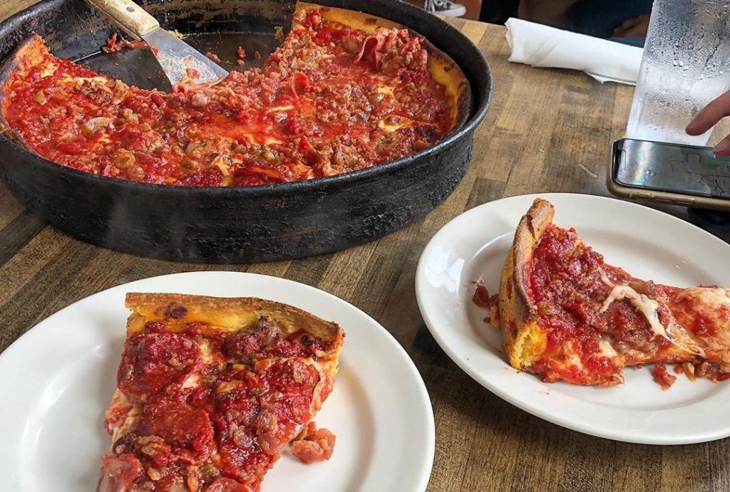A Deep-Dish Legend From Chicago Made Its Way To The West • Gino's East