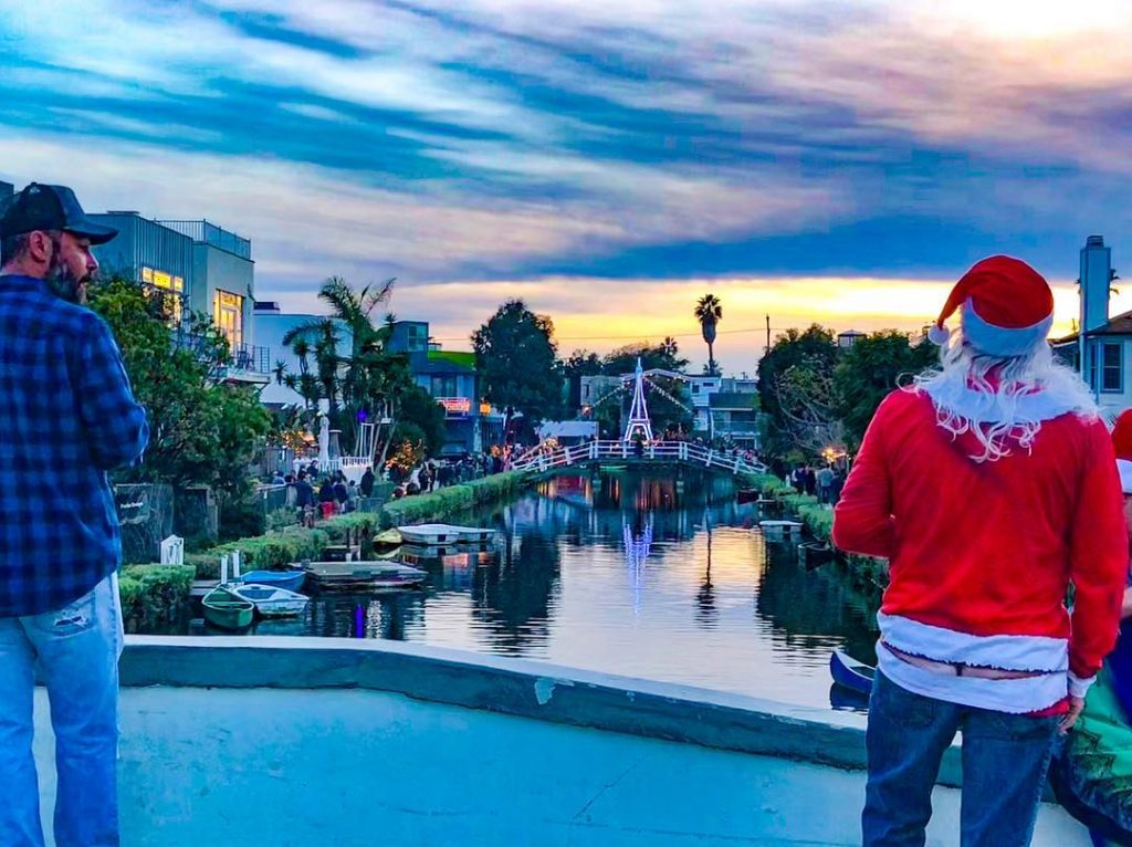 The Venice Canals Annual Holiday Boat Parade Takes Float This Saturday
