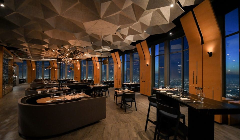 Sip Champagne On The 71st Floor Of The Tallest DTLA Skyscraper