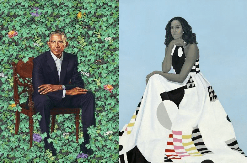 The Iconic Obama Portraits Are Going On A National Tour And L.A. Is On The List