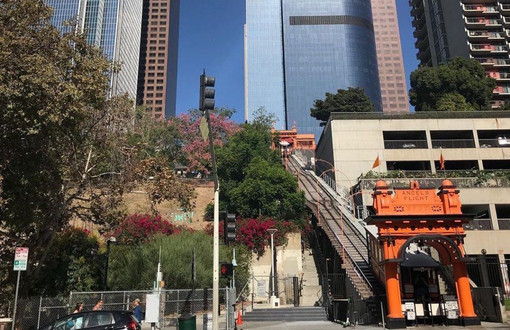 This Bunker Hill Gem May Be The Shortest Railroad In The World • Angels Flight