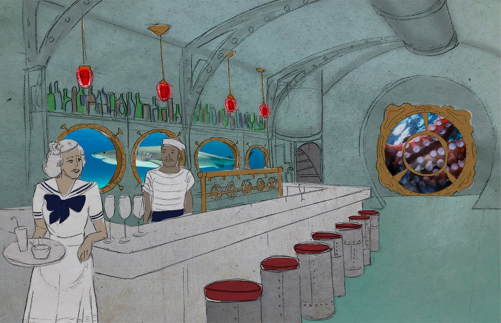 A Tiki Submarine Pop-Up Bar Is Setting Sail Toward Los Angeles And We're All Aboard