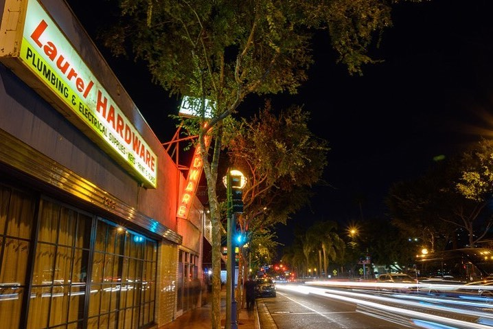 "You'd Never Guess That This ""Appliance Store"" Is Actually A Chic WeHo Eatery • Laurel Hardware"