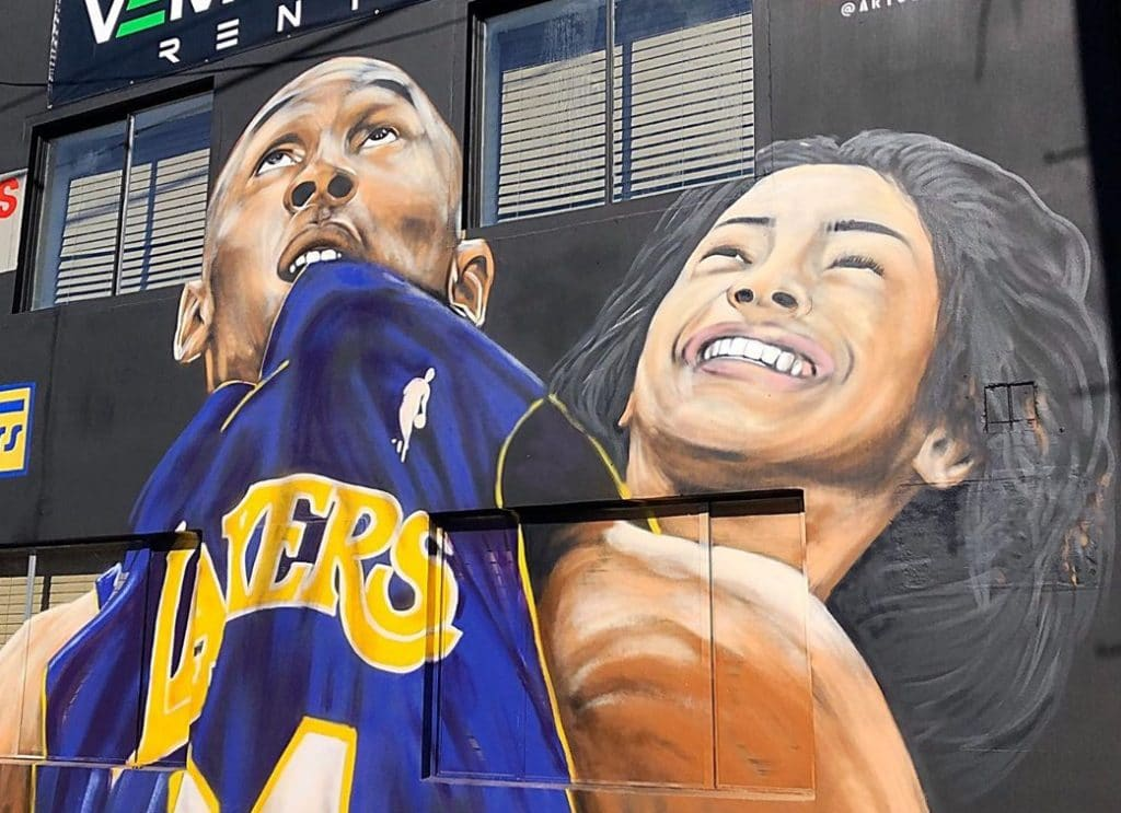 11 Murals Paying Tribute To Gianna Bryant Around L.A.