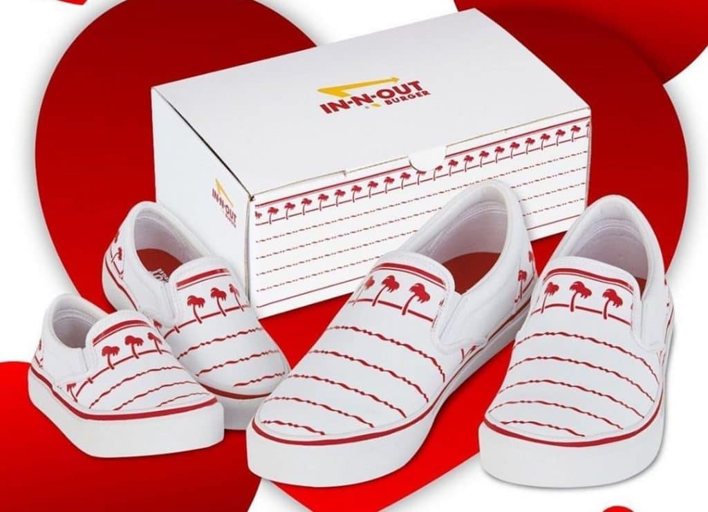 If You Love In-N-Out Burgers, Then You'll Love These Shoes Designed After Their Cups
