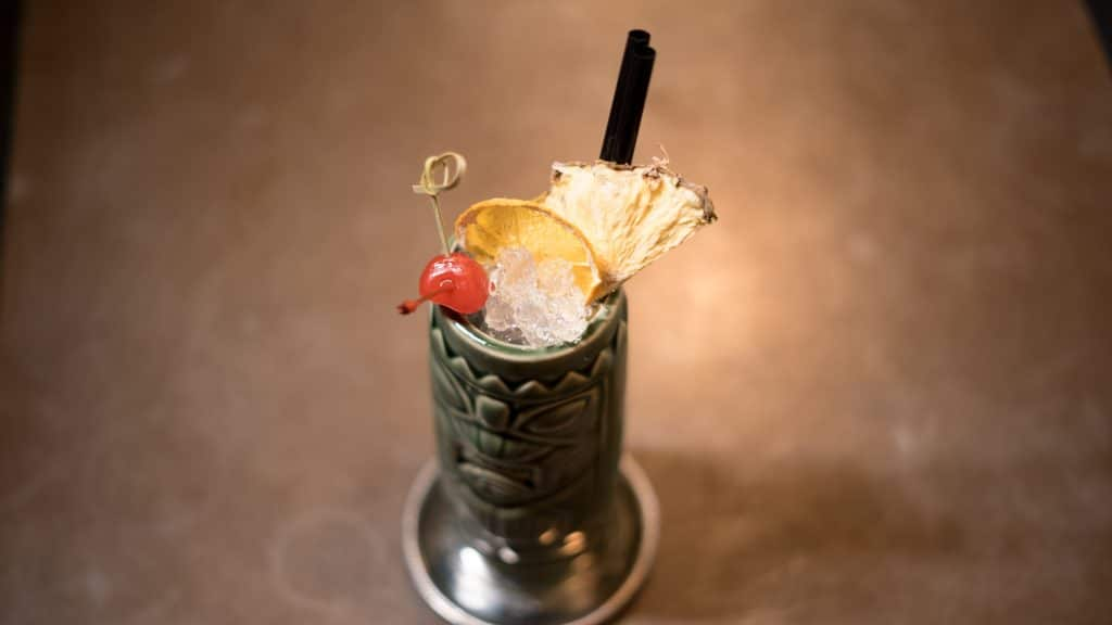 virtual tiki cocktail