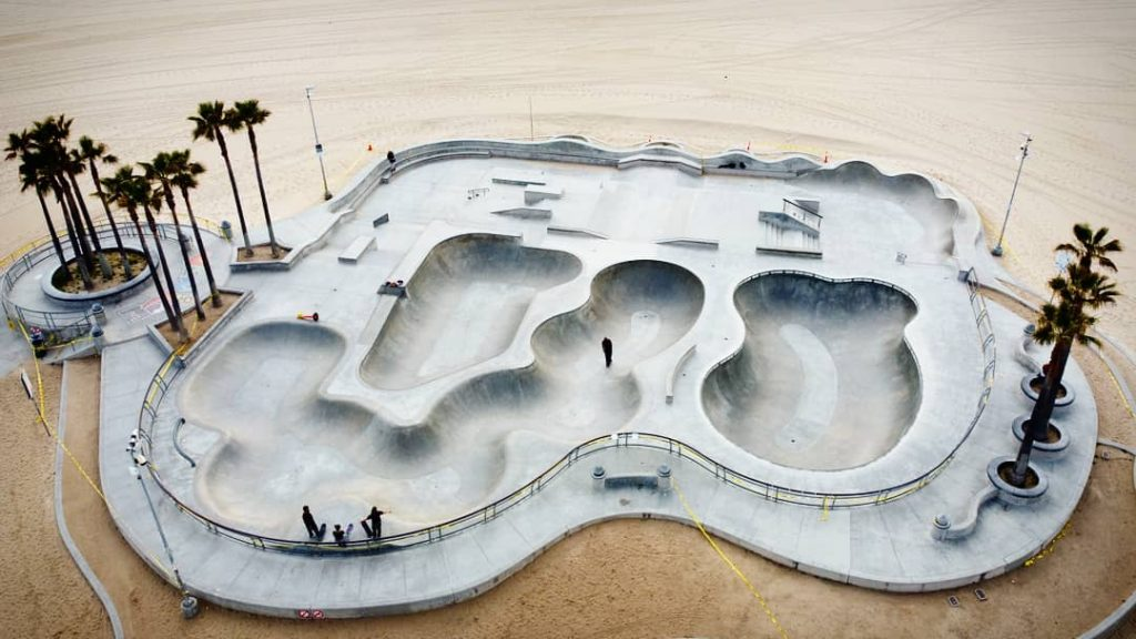 California Skate Parks Filled With Sand, Naturally Dirt Bikers Showed Up