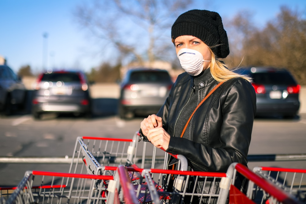 Mayor Garcetti Urges Angelenos To Wear Face Masks While Performing Essential Tasks