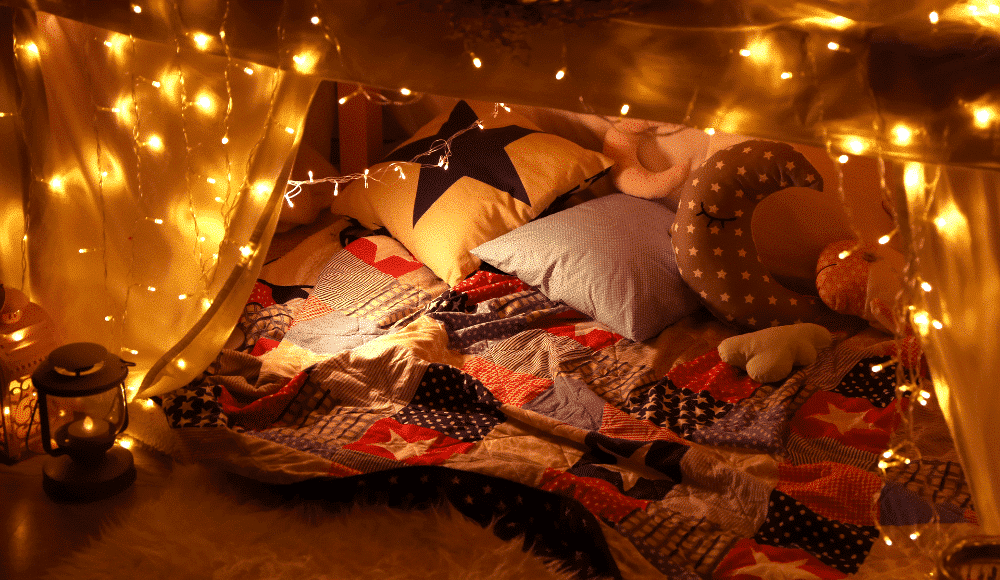 IKEA Reveals Instructions For 6 Different Types Of Blanket Forts