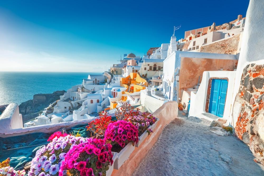 greece tourist july