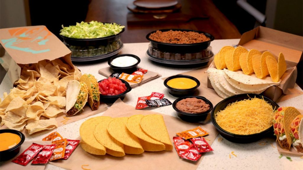 Taco Bell Has Released DIY Taco Bar Kits So You Can Have A Grande Fiesta For 6