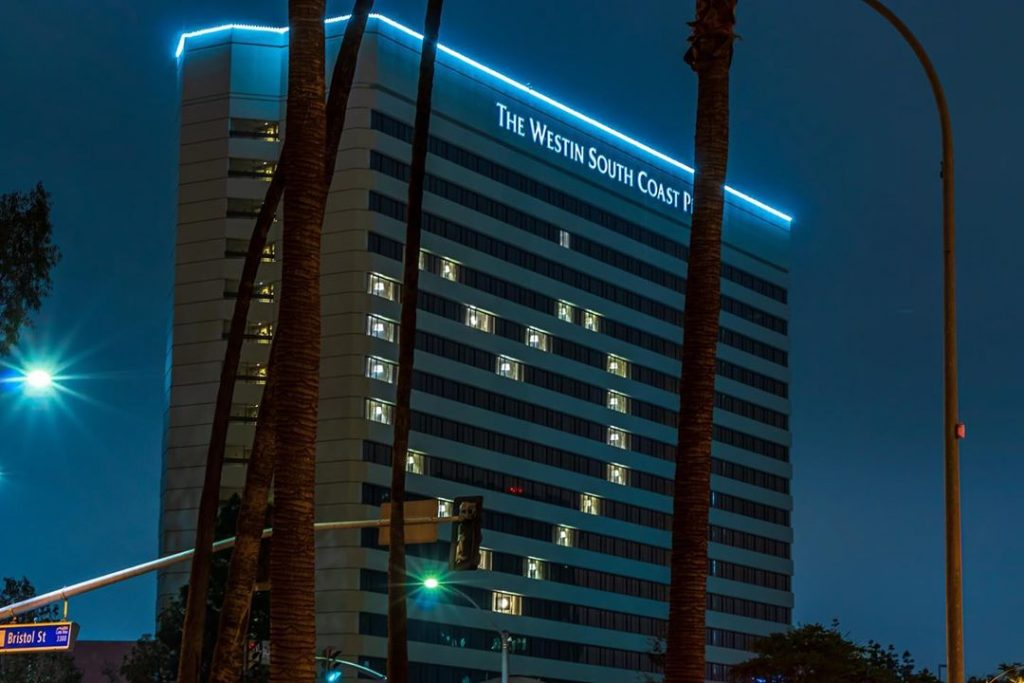 Empty Hotels Light Up With Hearts Of Hope Across Greater Los Angeles
