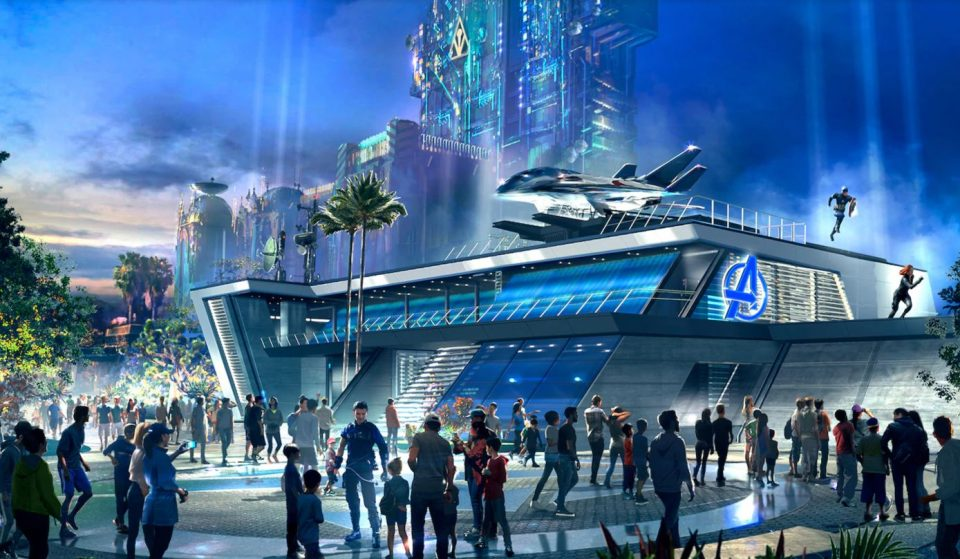 Avengers Campus Set To Open At Disney California Adventure Park In 2021