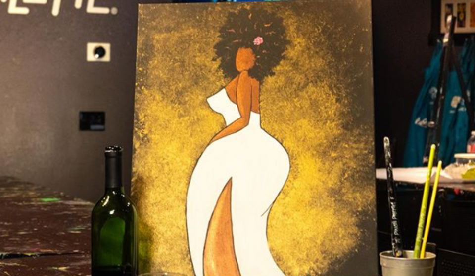 Put The 'Art' In Party At This Virtual BYOB Paint 'N' Sip Party