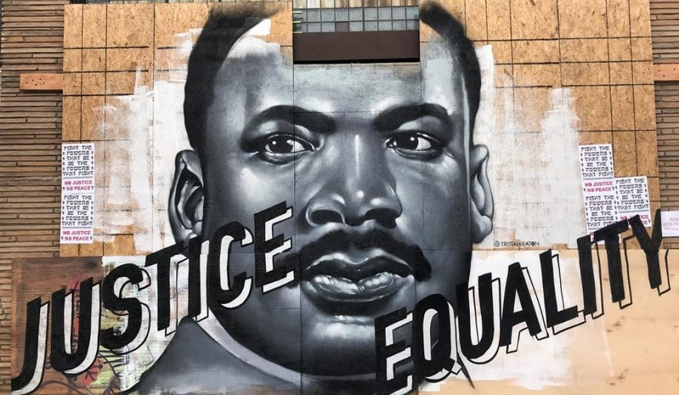 A Gallery Of The Beautiful Black Lives Matter Street Art Around L.A.