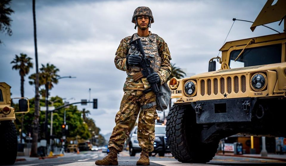 The National Guard Leaves L.A. Tonight Following A Week Of Peaceful Protests
